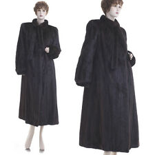 ON SALE! Mint! Forever Fashionable Black Mahogany Female Mink Fur F/L Coat