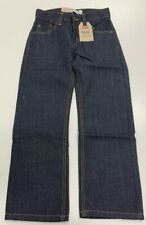 Levi's Boys' 505 Regular Fit size 8 Slim Jeans, Color Armor 22x22 NWT