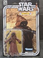 Star Wars The Black Series 40th Anniversary Jawa Sealed NOS NIP NIB 40th anniver