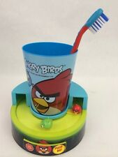 Angry Birds Oral Timer Gift Set For Children Cup Toothbrush Timer Tooth Paste