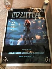 """Vintage 1977 Led Zeppelin Wall Poster GB Posters England 25""""x35"""""""