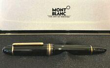 Montblanc-Füllfederhalter-No. 149-Le Grand-Zigarre-750 gold-schwarz-OVP-Art.5946