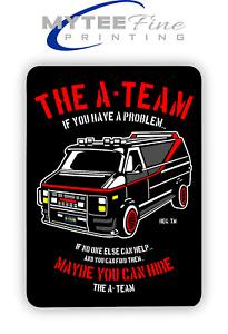 The A-Team Van Mr T 1980s METAL SIGN PLAQUE Man CAVE Poster Retro