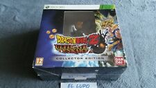 DRAGON BALL Z ULTIMATE TENKAISHI EDITION COLLECTOR XBOX 360 NEUF SOUS BLISTER VF