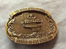 **KESSLER WHISKEY** 1993 CALIFORNIA COLLECTION SERIES BELT BUCKLE