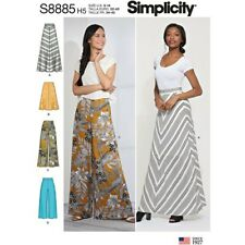 Simplicity Sewing Pattern 8885 Misses 14-22 Skirts and Wide Leg Pants 2 Lengths
