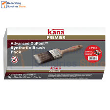 "Kana Premier Paint Brush Set 1"" 1.5"" 2"" 