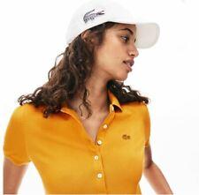 Lacoste Mujer Slim Fit Camisa Polo Piqué Mini De Algodón Talla FR36/38 PVP: - £ 85