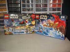 LEGO STAR WARS  ADVENT CALENDAR       2015 & 2016    NIB