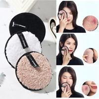 Eg _ Doux Éponge Maquillage Solvant Houppette Visage Nettoyant Tissu Coussin
