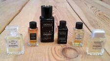 CHANEL Miniatur Konvolut Egoiste/ Eau de Parfum N.19 / de Toilette N.5/  Antaeus