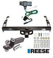 """Reese Trailer Tow Hitch For 88-00 Chevy C/K Series Complete w/ Wiring & 2"""" Ball"""