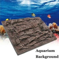 Aquarium Foam Rock Fish Tank Background Wall 3D ReptileTerrarium Vivarium LA