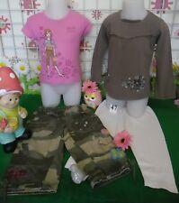 vêtements occasion fille 2 ans,pantalon BENETTON,tshirt BENETTON,tunique,legging