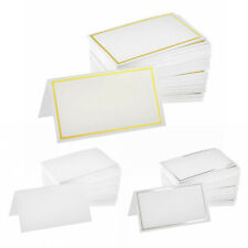 Alpine Industries Tent Place Cards Two Sided Table Top Label Card 200 Place Card
