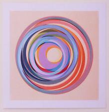 Joe Stoneman Circles III print (Frost/Victor Vasarely/Terry genre)