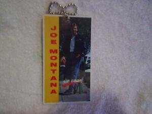 JOE MONTANA L.A. GEAR KEY CHAIN,Football Quarterback,street hiking,la