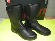 DUCATI MOTORCYCLE STRADA BOOTS MEN'S SIZE 11 EU 45 981020145 FREE DECAL GIFT BAG