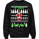 NEW Future Ugly Christmas Sweater If Young Metro Don't Trust Long Sleeve T Shirt