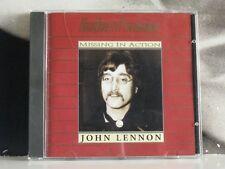 JOHN LENNON - PILL - GOLD PLATED CD LIKE NEW 1993 MISSING IN ACTION HQP