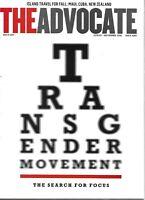 The Advocate Magazine Transgender Movement Island Travel Maui Cuba New Zealand