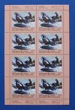 Canada (NF04) 1997 Newfoundland & Labrador Conservation sheet (MNH)
