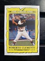 2021 Topps Heritage The Great One Roberto Clemente Pittsburgh Pirates #Go-6