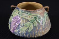 "Roseville Pottery Wisteria 4"" Bowl in Blue #242 $500-550 EXCELLENT Vintage"