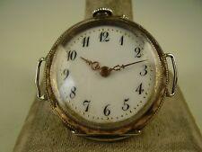 Antike 800 Silber Armbanduhr DDG um 1910