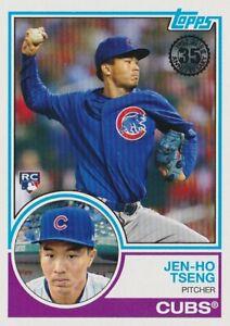 2018 Topps Series 2 - 1983 Topps Rookies - Jen-Ho Tseng - Cubs - 83-8 - MNT - RC