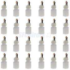 24Pcs Bride and Groom Bubbles Bottle Wedding Party Favors Reception New Year