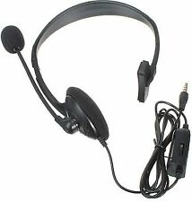 Wired Gaming Headset With Mic & Volume Control for PlayStation 4 Ps4