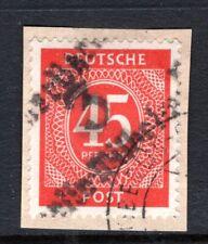 1948 Germany SBZ HOP, BEZIRK 3 BERLIN-WILHELMSRUH,  Mi. # l s l, Used on Piece