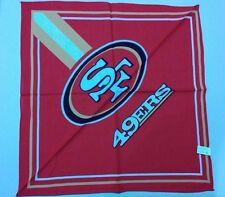 NFL San Francisco 49ers Full Color Fandana Bandanna