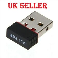 USB Wifi 2.0 802.11n 150Mbps Mini Network Adapter for Windows Linux Laptop PC UK