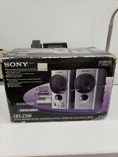 Sony Srs-z500 speakers