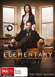 Elementary Season 1 One (DVD, 6-Disc Set) OVER 16 HOURS - Region 4 Australia