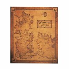 Game of Thrones Westeros Map Poster Kraft Paper Cafe Home Wall Sticker Placard