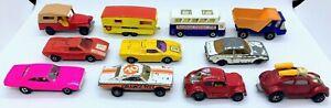 Matchbox Superfast Lot-VW-Lambo-Charger Funny Cars-Bus-Caravan-More-Ships FREE!!