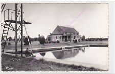 CPSM 18700 AUBIGNY SUR NERE Parc des soprts piscine gymnase enfant Edt COMBIER