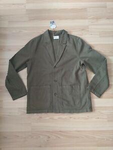 NEU Nudie Jeans, Jacke Roland Jacket Slouchy Twill Army M