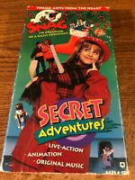 Snag's Secret Adventures VHS VCR Video Tape Movie Used Cartoon