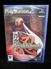 Nightshade para  playstation2 Pal Nuevo y Precintado