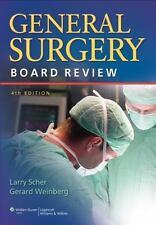 General Surgery Board Review, Weinberg MD  FACS  FAAP, Gerard,Scher MD  FACS, La