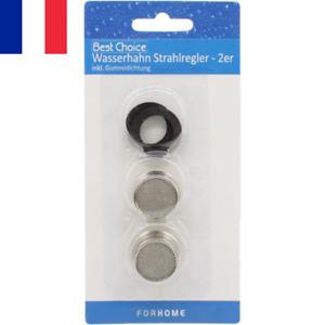 2X Filtre Robinet Filtres 21mm + 2 Joints Adaptés Universel Mousseur Aérateur