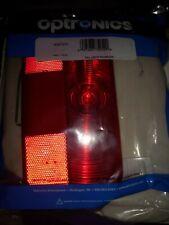 Optronics RVSTB51P White Base Rv Driver Tail Light