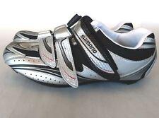 Shimano SH-R077 Silver Pedaling Road Bike Cycling Shoes US 7.6 Size EU41