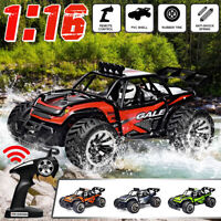 1:16 4WD Remote Control Car Monster Truck Off Road Electric RC Toy