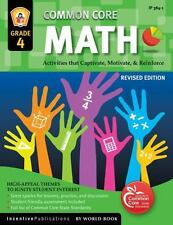 Common Core: Common Core Math Grade 4 : Activities That Captivate, Motivate and