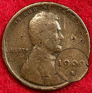 1909-S VDB Lincoln Cent Wheat Penny, Avidly Pursued Collector Favorite Key Date!